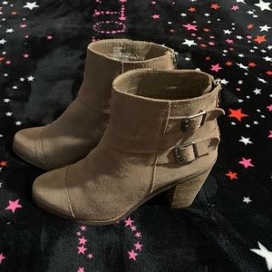 Jessica Simpson Suede Ankle Boots